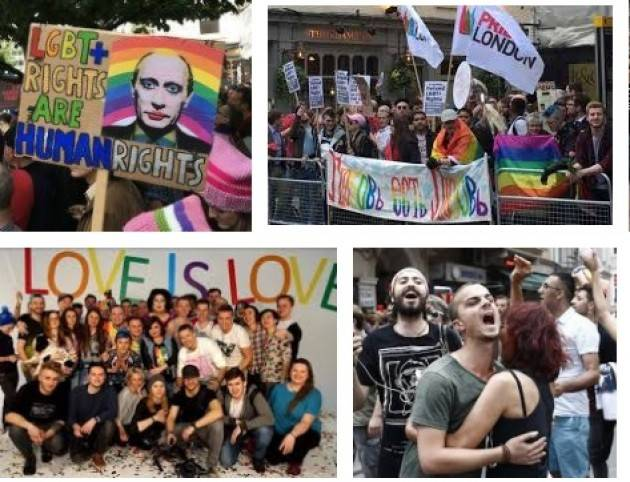 AMNESTY OMOFOBIA E OSTILITÀ CONTRO LE ATTIVISTE E GLI ATTIVISTI LGBTI  IN RUSSIA