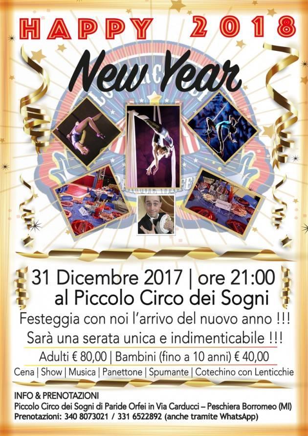 Speciale Capodanno a Milano: cenone e gran spettacolo di arte circense, magia, musica live