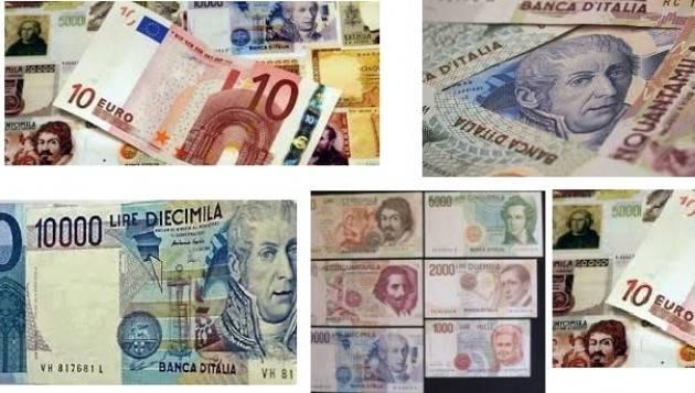 Il cambio lira-euro era giusto Il Italia mancò il controllo ed i prezzi raddoppiarono di Giuseppe Azzoni (Cremona)
