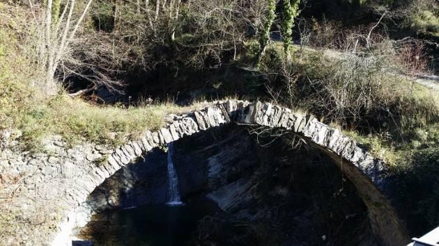 Molini di Triora Pronta risposta dell'Amministrazione  per il restauro dell'antico ponte di Agaggio in Valle Argentina di Christian Flammia