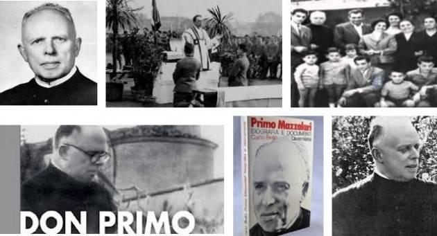 AccaddeOggi 13 gennaio 1890 Nasce a Cremona Don Primo Mazzolari
