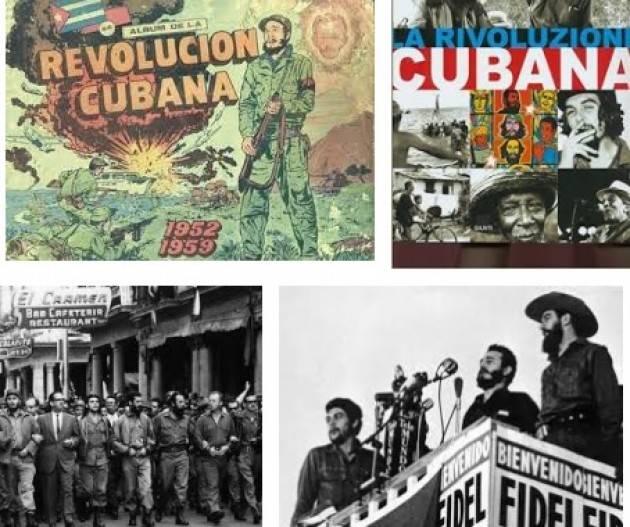 AccaddeOggi   2 gennaio 1959  Anniversario  della Rivoluzione cubana di Lucio Garofalo