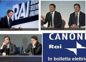 Renzi propone abolizione canone RAI Per me ha ragione Calenda  di Gian Carlo Storti