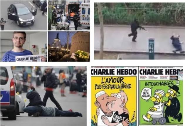 AccaddeOggi 7 gennaio 2015 – Attacco terroristico nella sede del giornale satirico Charlie Hebdo a Parigi