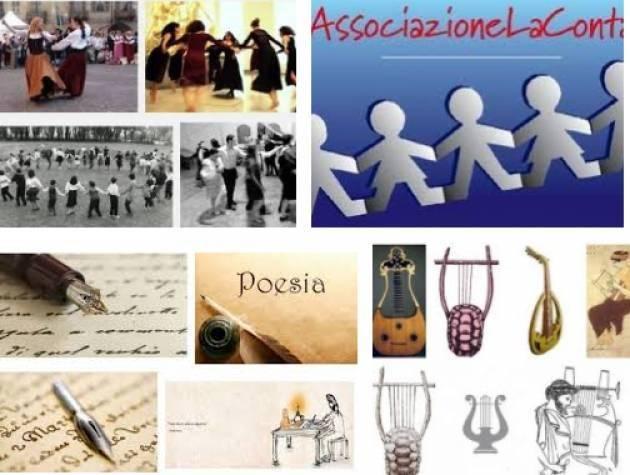 Milano APPUNTAMENTI DAL 9 AL 13 GENNAIO 2018 DELL'ASSOCIAZIONE LA CONTA ONLUS