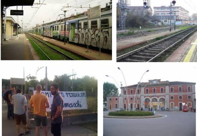 La linea ferroviaria torio Cremona-Crema-Treviglio-(Milano) ancora in tilt [Liberi e Uguali Crema]