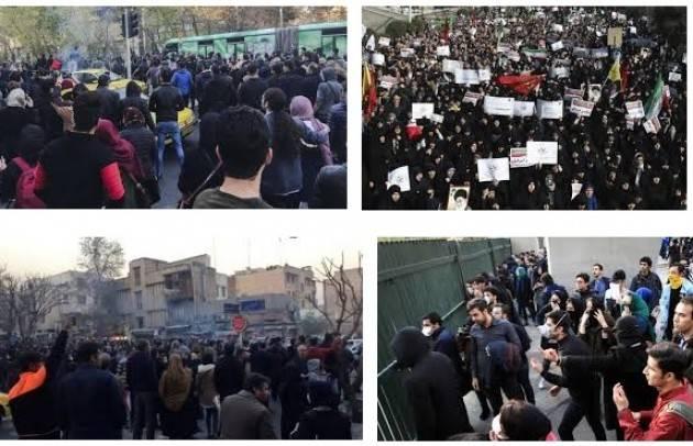 Amnesty IRAN, ALMENO CINQUE MANIFESTANTI SAREBBERO MORTI IN CARCERE.