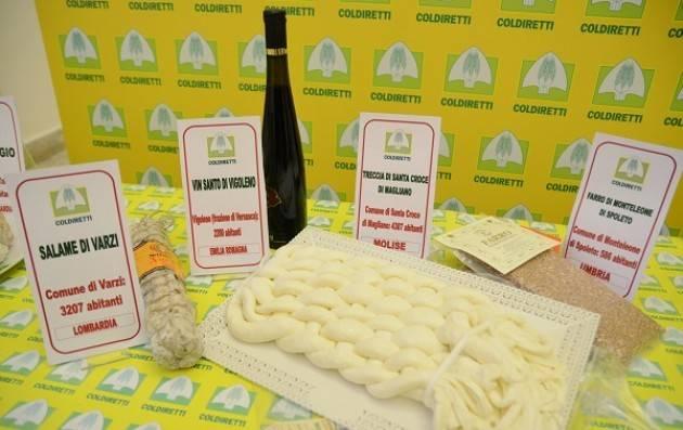 Coldiretti TURISMO: COLDIRETTI, ECCO MAPPA GOURMET DEI 5567 BORGHI