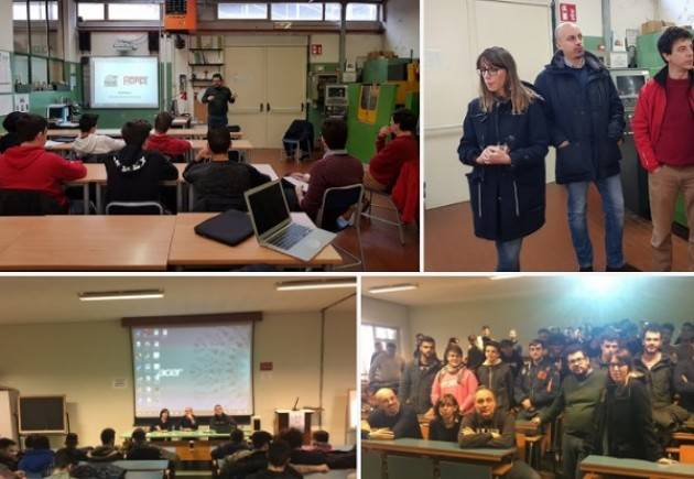 Alternanza Scuola lavoro. 100 ragazzi del Torriani di Cremona partecipano al progetto della FIm-Cisl