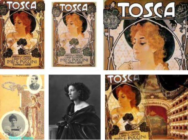 AccadeOggi 14 gennaio 1900  La Tosca di Giacomo Puccini viene rappresentata per la prima volta a Roma