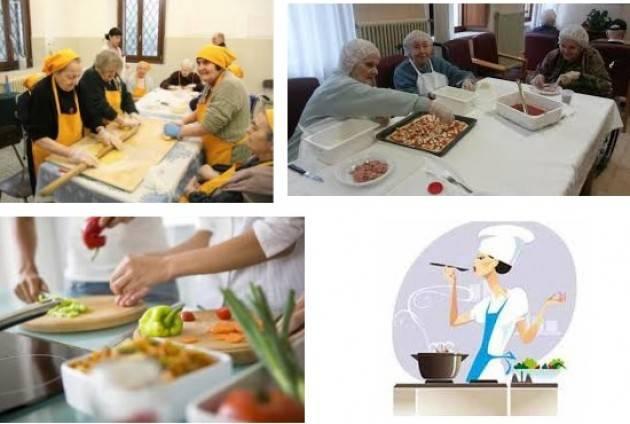Pianeta Anziani Corso di cucina organizzato dai pensionati della Cisl a Viadana