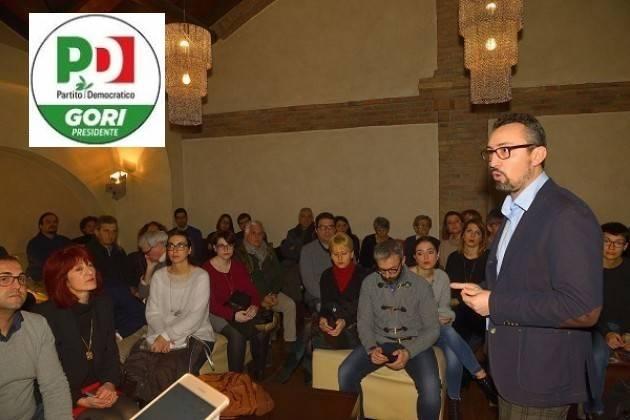 Matteo Piloni , candidato al Consiglio Regionale Lombardo, scrive agli iscritti del Pd della Provincia di Cremona