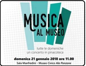 Cremona  Museo Civico, domenica 21 gennaio l'ensemble 'Un pizzico di corda'