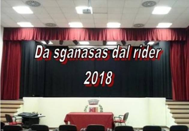 Gussola V edizione 2018 .. Sganasas dal  rider