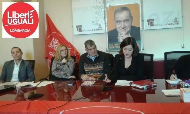 Servono 750 firme  a Liberi e Uguali Cremona per presentare la lista a sostegno di Onorio Rosati Presidente