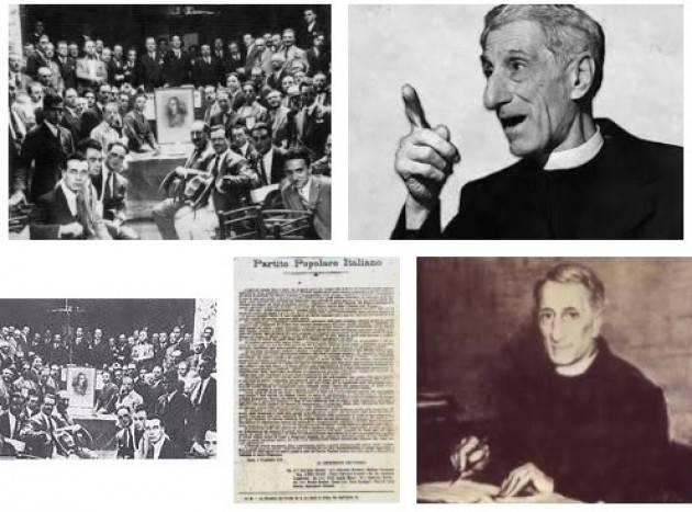 AccaddeOggi 18 gennaio 1919-Viene fondato a Roma il Partito Popolare Italiano da don Luigi Sturzo