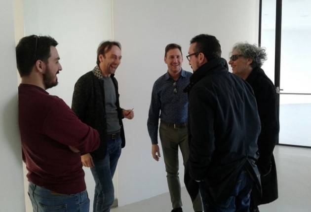 Matteo Piloni (Pd) Visita la Omnicos importante industria polo cremasco della cosmesi