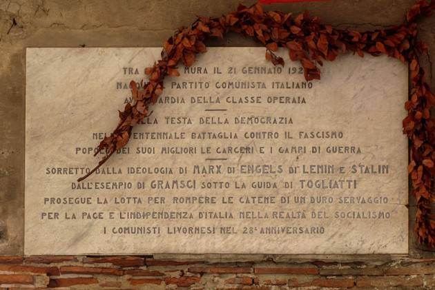 Il 1° Congresso del Partito Comunista d'Italia nato  a Livorno il 21 gennaio 1921
