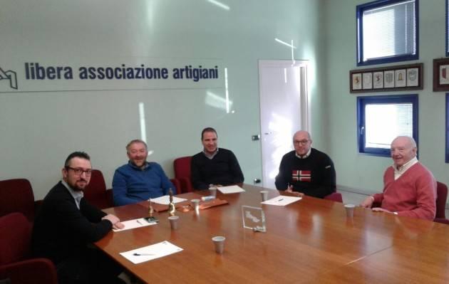 Matteo Piloni (Pd) ha incontrato la Libera Artigiani di Crema