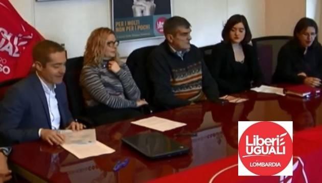 (Video) I candidati di Liberi e Uguali provincia di Cremona al consiglio regionale Lombardia si presentano