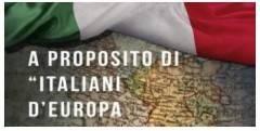 AISE L'INTEGRAZIONE EUROPEA VISTA DAGLI OCCHI DEGLI ITALIANI ALL'ESTERO