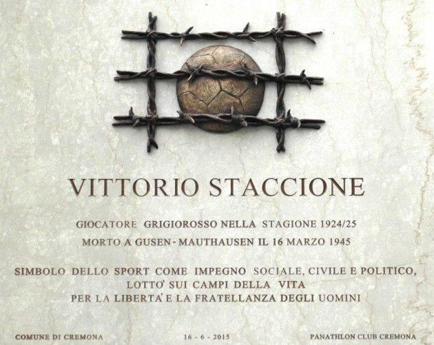 Cremona Giornata della Memoria, momento commemorativo allo Stadio 'G. Zini'