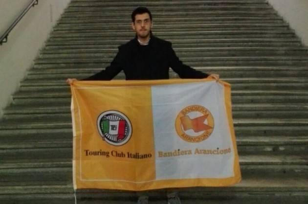 A Sabbioneta  la bandiera arancione del del Touring Club Italiano per il triennio 2018-2020.