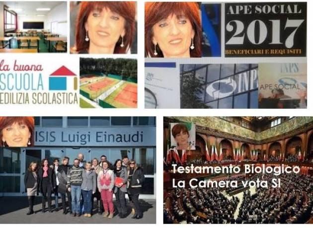 La LEGGE BILANCIO 2018 appunti  di Cinzia Fontana, deputata PD