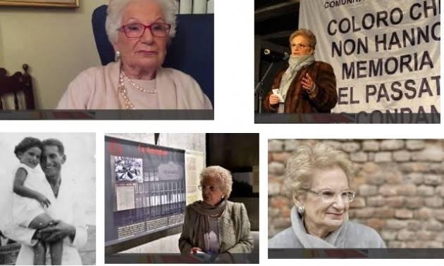 Docenti della disciplina dei Diritti Umani esprimono soddisfazione per nomina  di Liliana Segre senatrice a vite.