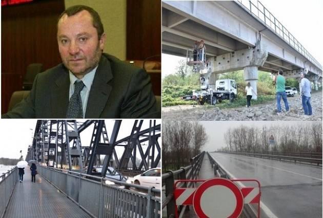 Luciano Pizzetti porta a casa da Roma 20mil. di euro per i tre ponti  di Casalmaggiore, San Daniele e Cremona