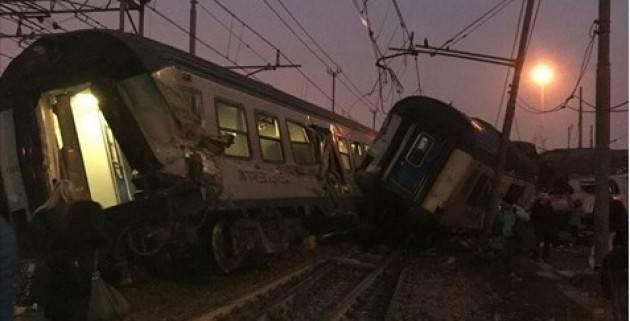 (Telefonata) Treno deragliato sulla Cremona-Milano con 4 morti  Ns intervista ad Agostino Alloni. Nessun errore umano ma casualità