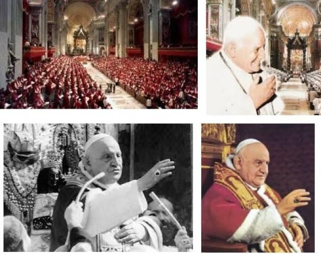 AccaddeOggi 25 Gennaio 1959 - Papa Giovanni XXIII indice il Concilio Ecumenico Vaticano II