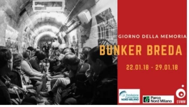 Milano Settimana della Memoria 2018  - visita Bunker Breda
