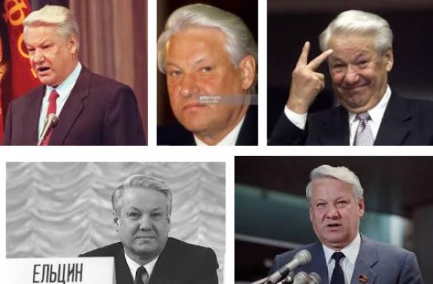 AccaddeOggi 26 gennaio 1992- Boris Yeltsin annuncia che la Russia smetterà  di puntare armi nucleari sulle città USA
