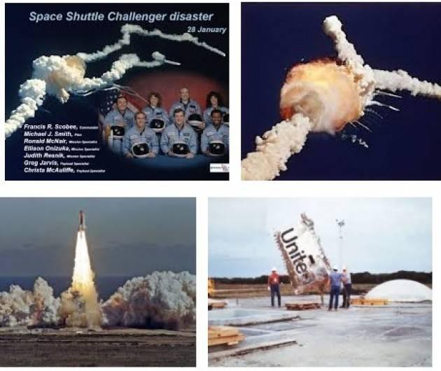 AccaddeOggi 28 gennaio 1986 - Lo Space Shuttle Challenger esplode subito dopo il decollo. Morti i  7 astronauti