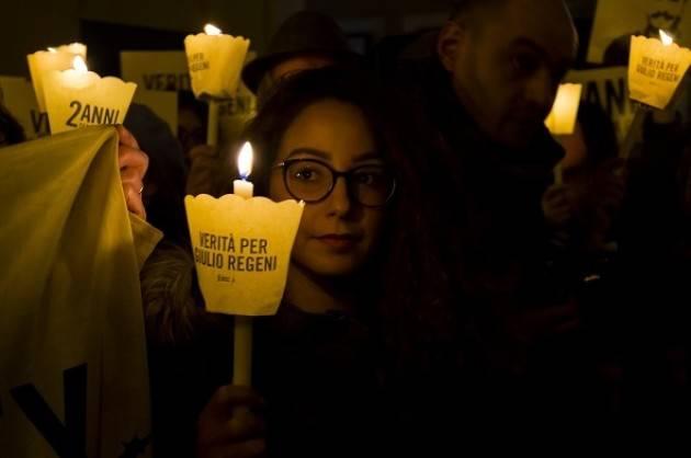 GIULIO REGENI Amnesty  Dopo la raccolta delle prime 70.000 firme continua la campagna