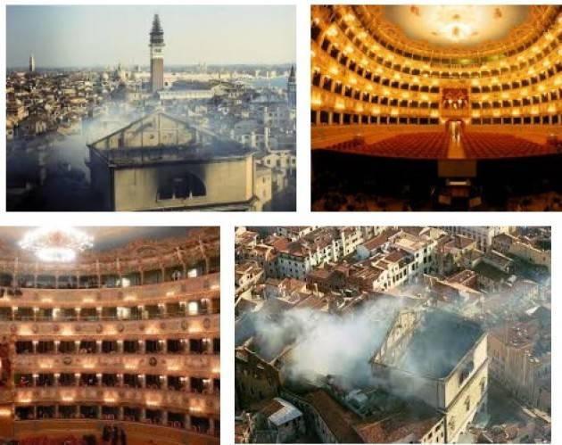 AccaddeOggi  29 gennaio 1996 - Un incendio distrugge il Teatro La Fenice di Venezia