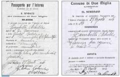 Non c'è futuro senza passato. Il passaporto di  Achille Zambelli  di LEO GRANATA ( Cremona)
