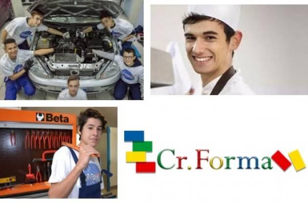 CR.Forma sede di Cremona . Sono aperte le iscrizioni fino 6 febbraio  per anno scolastico 2018/2019