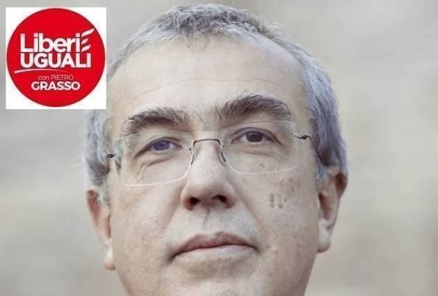 Disastro ferroviario, Franco Bordo (Liberi e Uguali) presenta un'interrogazione parlamentare