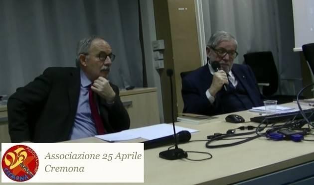 (Video) Un successo l'evento a Cremona con Giovanni Maria Flick Una 'Costituzione attuale ma da attuare'