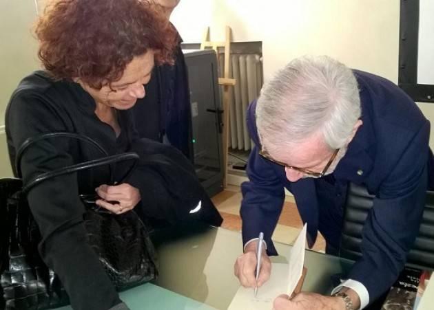 Giovanni Maria Flick a Crema per il compleanno della Costituzione il saluto di Stefania Bonaldi