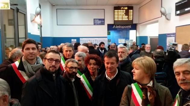 Matteo Piloni (Pd) Stamattina ho partecipato all'iniziativa 'In treno con noi'