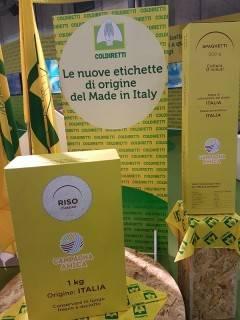 Coldiretti Consumi, arriva etichetta origine su riso e pasta In Lombardia più del 40% delle risaie italiane