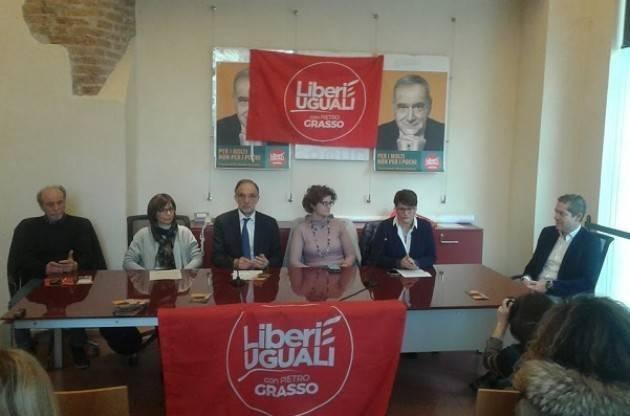A (Video) Cremona Liberi e Uguali ha presentato i suoi candidati alle politiche per il Sud Lombardia