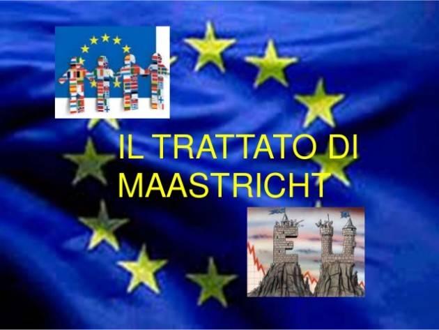 AccaddeOggi 7 febbraio 1992 – I dodici Stati della Comunità economica europea firmano il Trattato di Maastricht