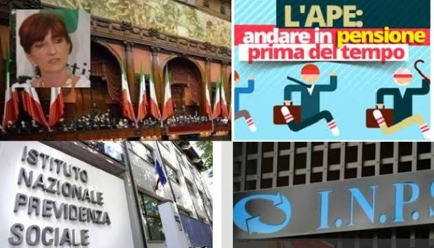 LAVORATORI 'PRECOCI' E APE SOCIALE: PLATEA AMPLIATA  Attenzione per 'quota 41' domanda  entro fine febbraio 2018  di Cinzia Fontana