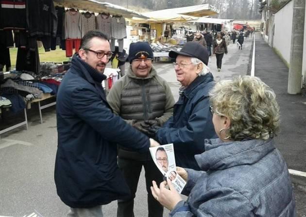 Continua il tour di Matteo Piloni (Pd) con tappe a Pizzighettone, Casalbuttano , San Bassano e Cremona