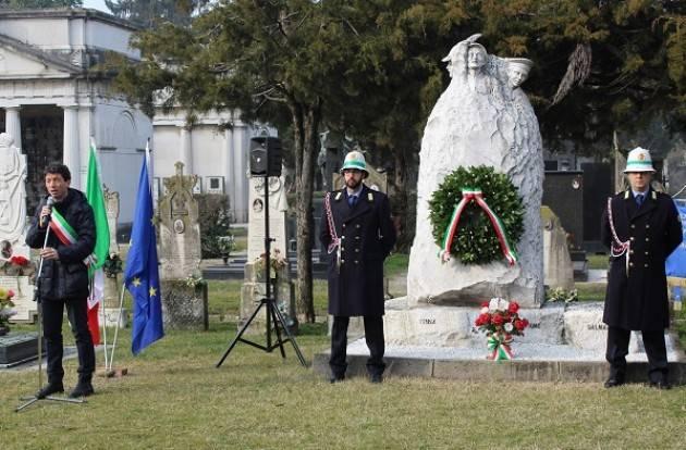 10 febbraio: il Comune di Sansepolcro celebra il Giorno del Ricordo