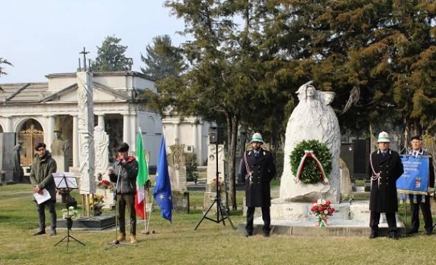 Cremona Commemorato al Civico Cimitero il 'Giorno del Ricordo